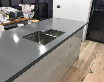 Concreto Quartz Kitchen Worktop