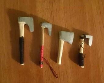Viking Axes Keychain