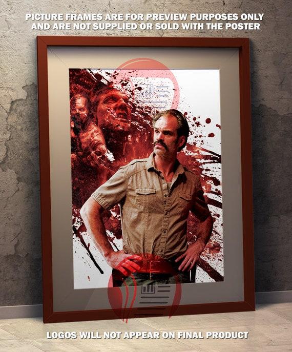 Simon The Walking Dead Saviors A3 Poster