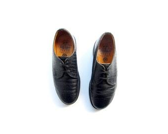 50% of Proceeds go to Planned Parenthood! Vintage Dr Martens 1461s, Made in England, NaNa Shoes, Black Doc Martens, UK Size 4, US Size 6.5
