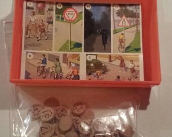 Vintage 60's bingo