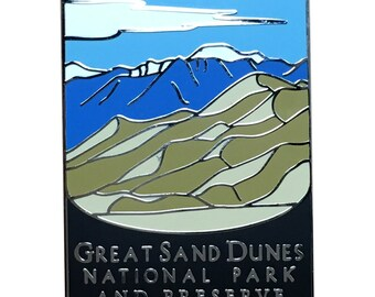 Great Sand Dunes National Park and Preserve Pin - Colorado