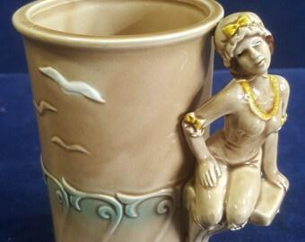 1979 Enesco bathing beauty mug made in Japan