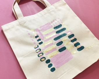 Hand-Painted Canvas Bags