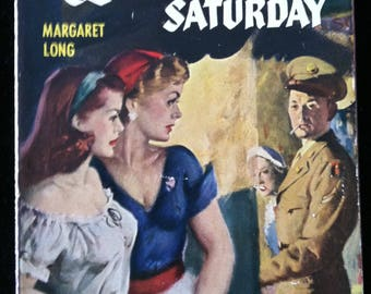 Vintage Paperback Bantam 931 Louisville Saturday by Margaret Long 1951 Lesbian Content VG-
