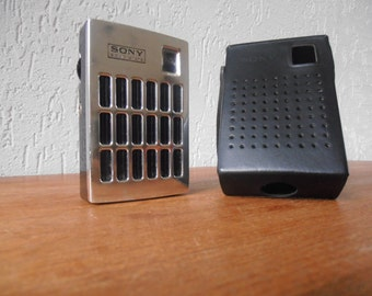 Sony transistor pocket radio 1960s