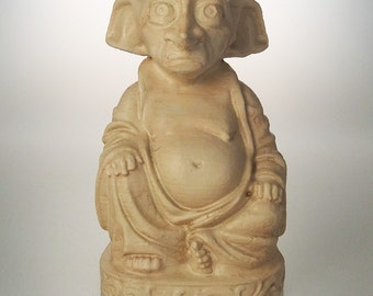 Harry Potter - Dobby Buddha (Antiqued Sand)