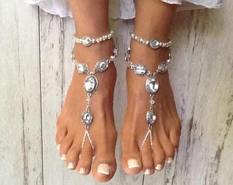 Beach foot jewelry Etsy
