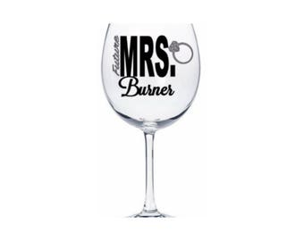 Future Mrs. vinyl decals , Bride decal ,Wedding vinyl