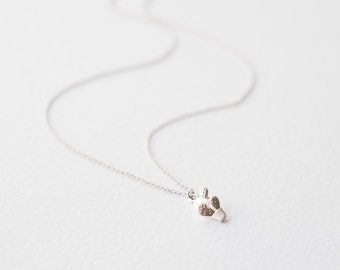 Silver Necklace with Cactus Pendant, Gifts for Her, Dainty Necklace, Geometric Jewelry