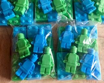 Lego soap- lego men- lego blocks- lego girls