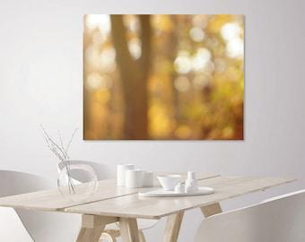 Abstract Art Print | Abstract Fall Decor Wall Art Prints | Neutral Wall Art | Dreamy Bokeh | Neutral Abstract Art | Nature Photography Print