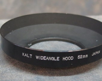 Kalt 52mm Metal Wideangle Lens Hood Screw Mount