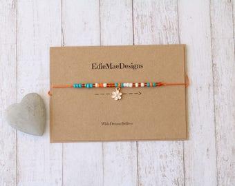 Ankle Bracelet, Tie on Bracelet, Jewellery, Friendship Bracelet, Wish Bracelet, Ladies, Girls Ankle Bracelet, Anklet, Summer Accessory, Gift
