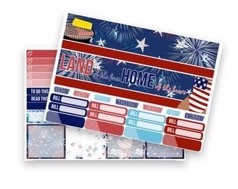 Amerika (4. Juli) monatlichen Kit
