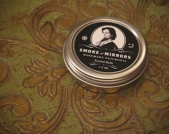 Smoke and Mirrors - Rosemary and Patchouli Scented Balm