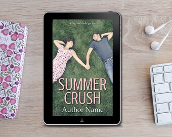 Premade eBook Cover -  Summer Crush