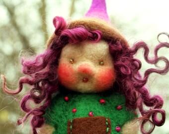 Gnome, dwarf, troll finger puppet