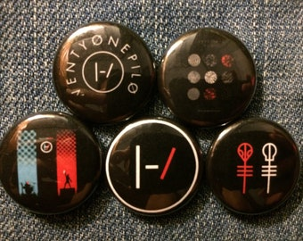 "21 Pilots | 1"" Button Pinbacks"