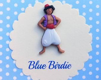 Disney Aladdin brooch Disney jewelry Disney jewellery Aladdin jewelry Disney brooch Aladdin gifts Aladdin jewelry Aladdin badge