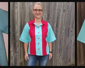 TWEEN/TEEN/ADULT BoWLiNg/BiRtHdAy Shirts/Matching Mom/Dad/Kids/Hawaiian shirt/Bowling/birthday/Photo op/Celebration/Sizes xxs to 3 xl