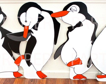 Penguins - Black and White Penguins - Tuxedo Penguins -  Penguin Party - Penguins - Penguin Prop