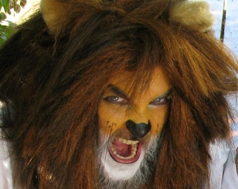Lion Costume - Mane and Tail