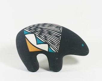 Acoma Pottery Bear - Zuni Bear