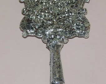 Vintage ornate Metal 5 inch Doll Vanity Mirror