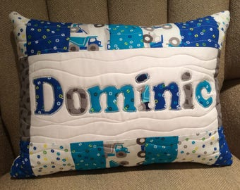 personalized kids name pillow cover