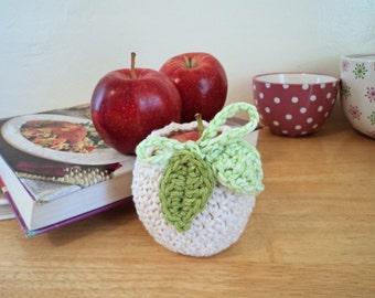 Apple Cozy Crochet Pattern, Digital Download