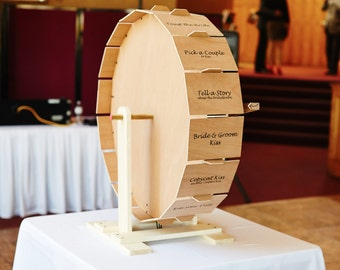 A Wedding Wheel, to Share the Love