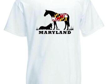Maryland Horse T-Shirt