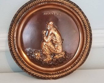 Copper Plate Wall Hanging Argentina