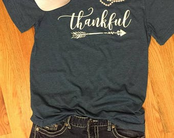 Thankful Shirt --- Thankful --- Thankful Tshirt --- Thankful T-Shirt --- Cute Fall Clothes