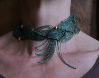 Tidal neck macrame. Last creation