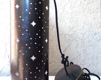 Vintage Gunmetal Minimalist Chandelier Pendant Light