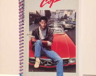 Recycled Beverly Hills Cop Blank Spiral Notebook