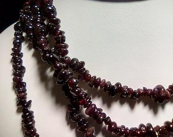 Genuine Gemstone Hand Beaded Necklaces