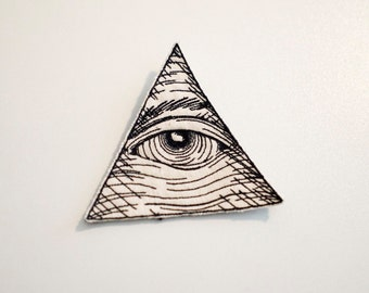 Eye of Providence (Illuminati Eye) Patch