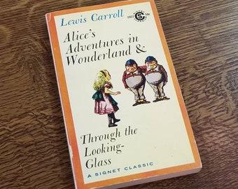 Lewis Carroll Alice's Adventures in Wonderland Book 1960