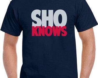 Shohei Ohtani California Baseball Team Sho Knows Baseball Fan  T Shirt