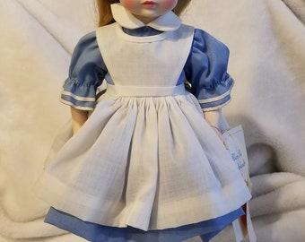 "Madame Alexander 14"" Alice in Wonderland Doll #1552 Original Tags, Disney"