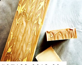 COCOA BUTTER + CASHMERE Bar Soap >> minnesota made/ vanilla tonka bean/ gold soap