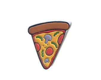 Pizza Enamel Pin // Pizza Pin // Lapel Pin