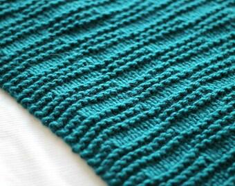 KNIT BLANKET PATTERN, Knit Baby Blanket Pattern, Knitting Pattern, Knit Afghan Pattern, Baby Blanket, Joi Winter Blanket - 5 Sizes