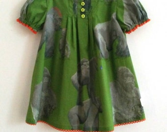 Gorilla One of A Kind Baby Doll Dress size 1/2
