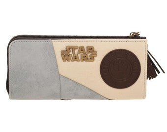 Star Wars Zip Wallet / Portefeuille (New, Free Shipping For Additional Products)