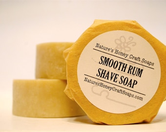 Smooth Rum Shave Soap