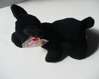 Black Dog Stuffed Animal, Scottie Dog, Dog Gift, Stuffed Dog, Stuffed Animal
